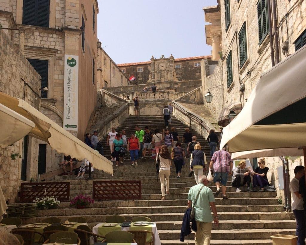 Der Walk of Shame in Dubrovnik