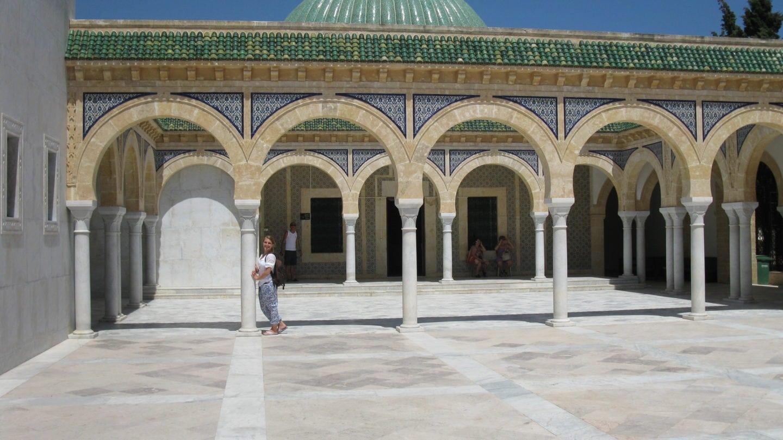 Eine Moschee in Tunesien