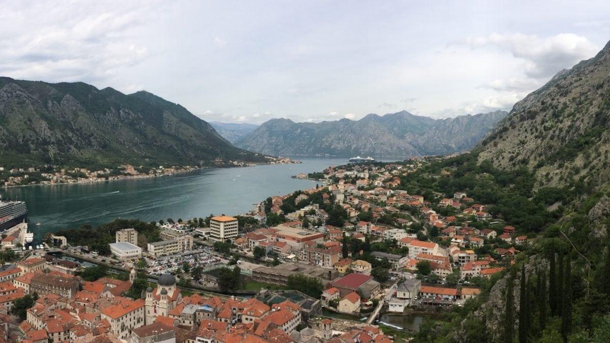 Aussicht über Kotor