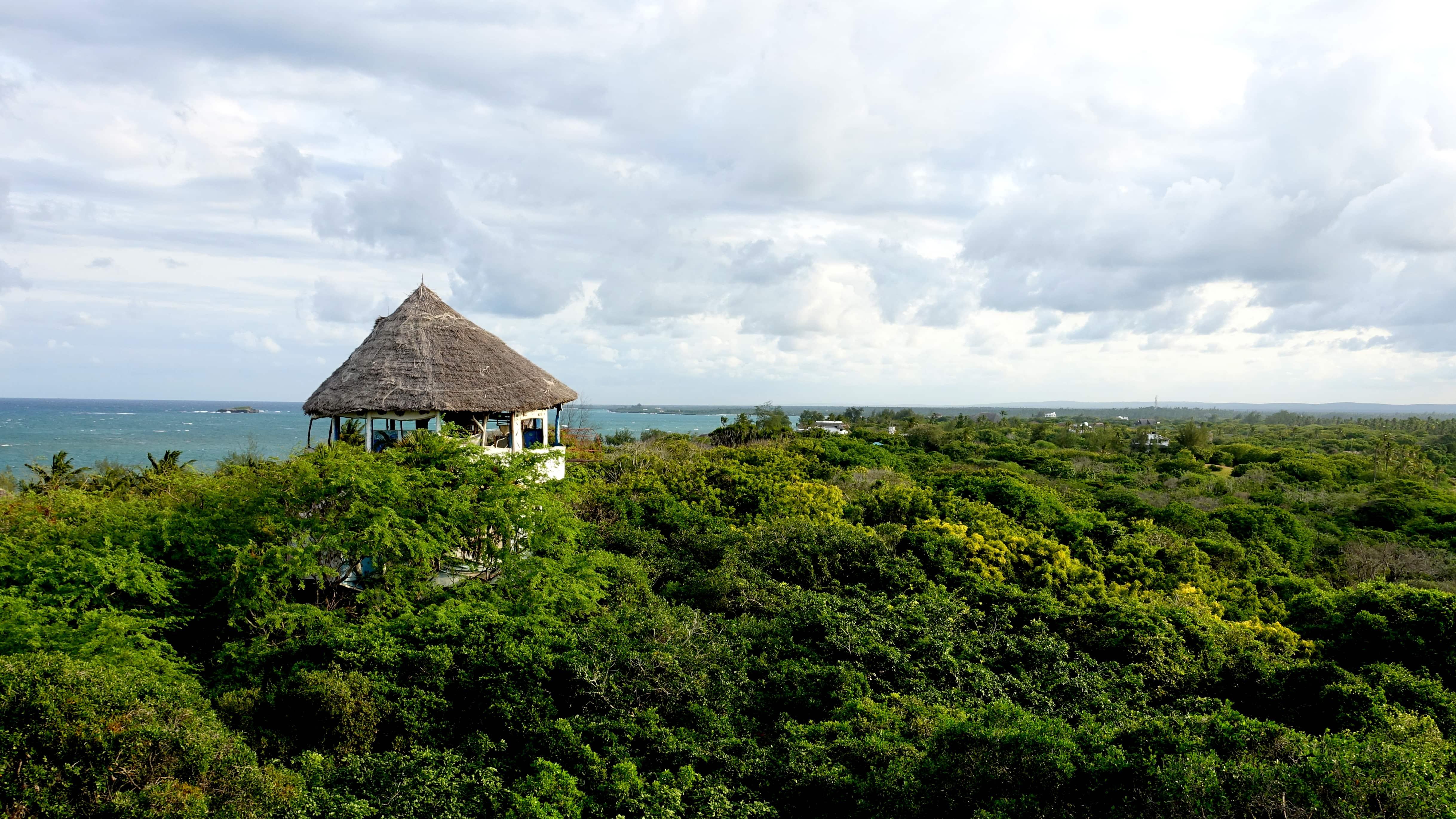 Treehouse in Watamu in Kenia Afrika