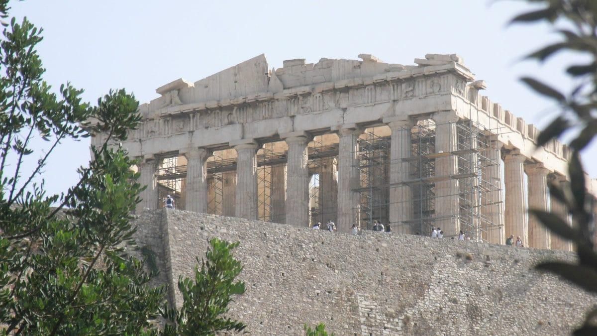 Parthenon Athen Akropolis