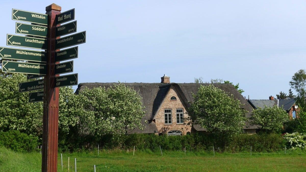Reetdachhaus auf Amrum