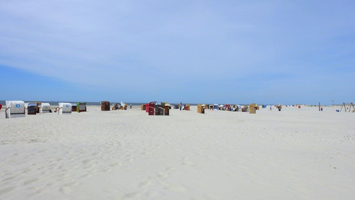 Strand auf Amrum