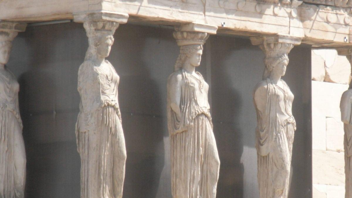 Korenhalle Akropolis in Athen