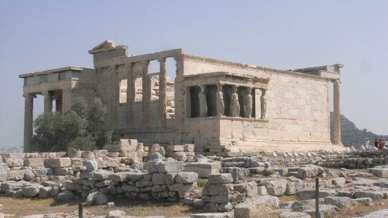 Athen Karyatiden Tempel