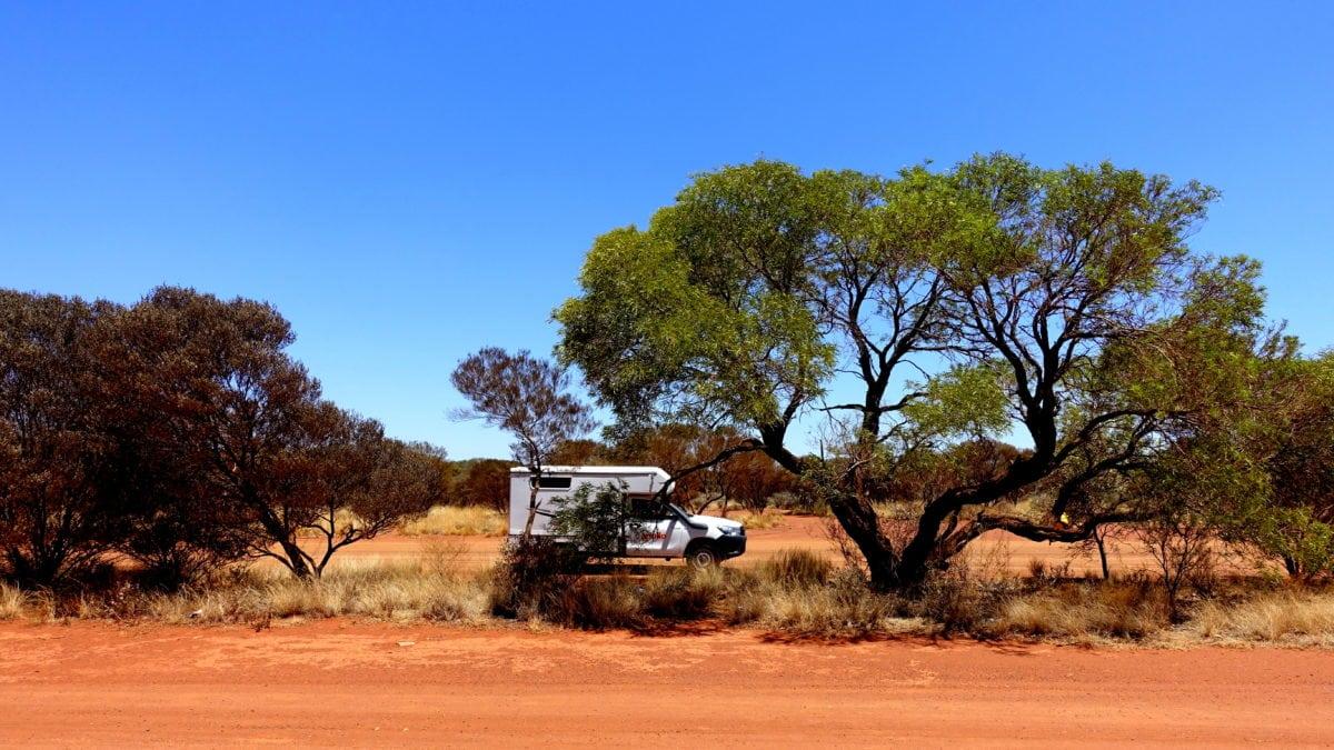 Apollo Camper im Outback von Australien