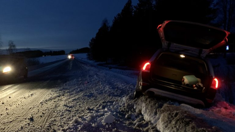 Autounfall in Schweden - was für ein Start in 2020