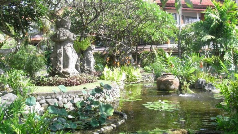Gärten in Ubud auf Bali