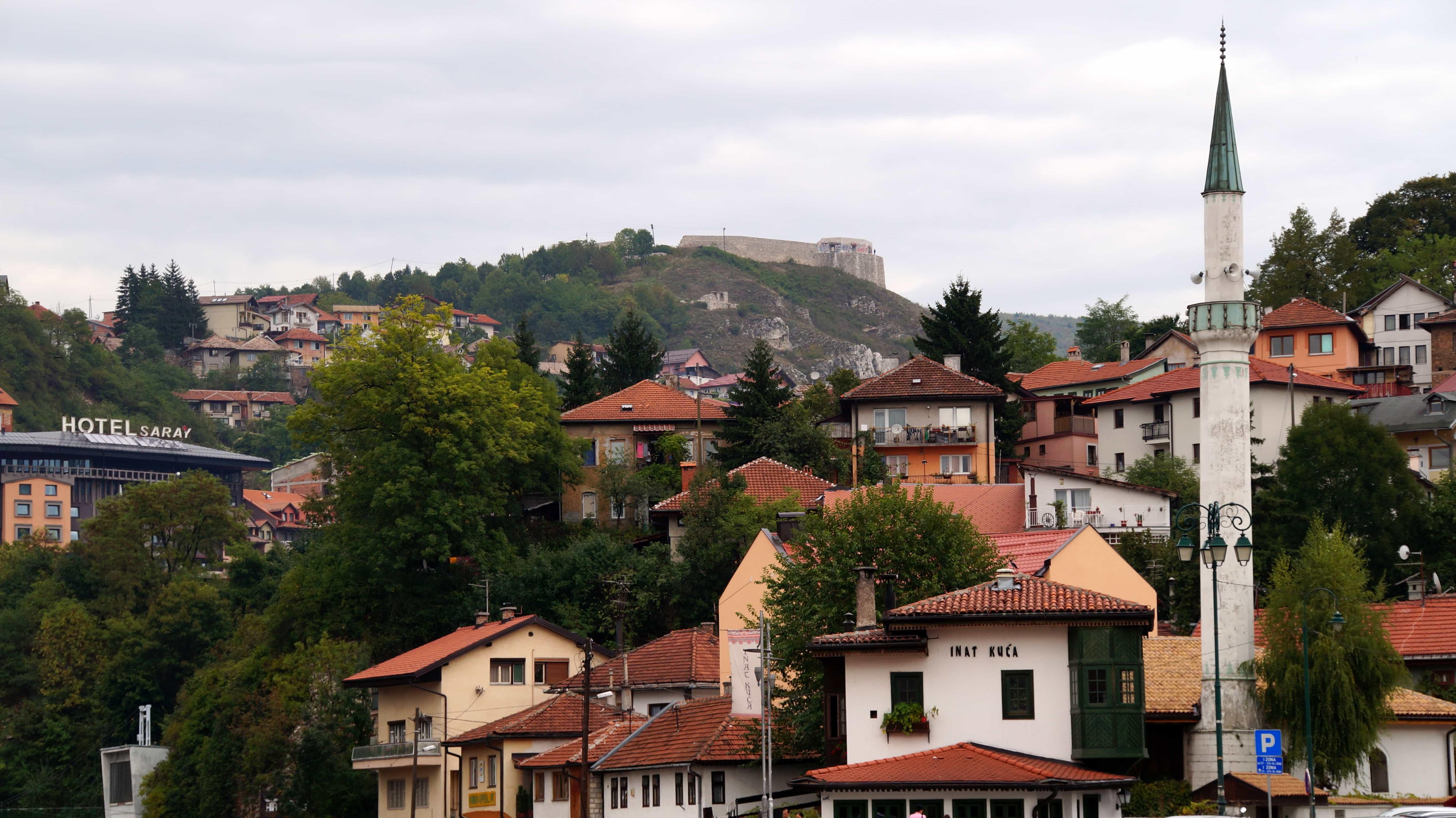 Berg in Sarajevo in Bosnien Herzegowina