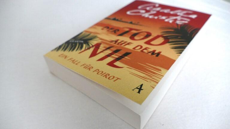 Ein perfekter Krimi für den Sommer ist Der Tod auf dem Nil von Agatha Christie