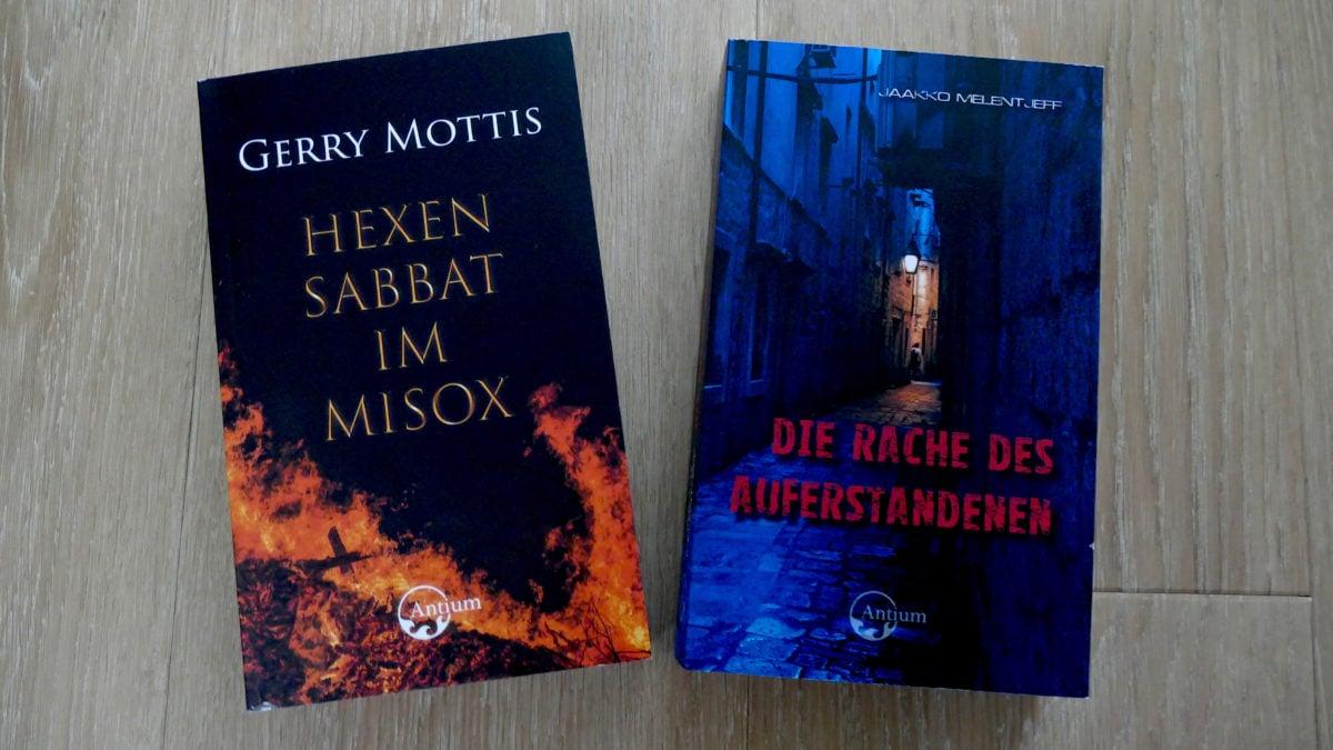Hexen Sabbat im Misox von Gerry Mottis ist im Antium Verlag erschienen.