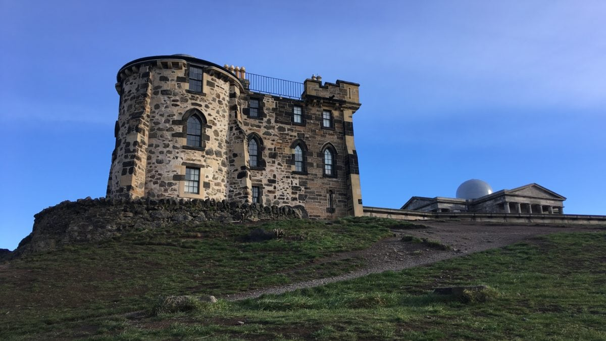 City Observatory auf dem Calton Hill in Edinburgh