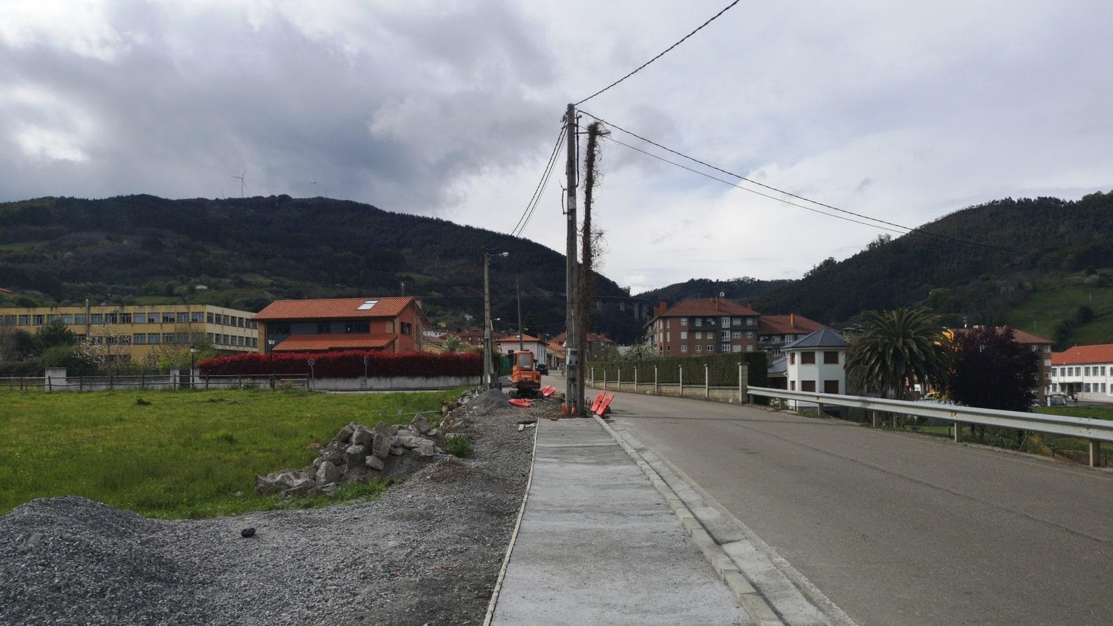 Kurz vor Salas auf dem Camino Primitivo