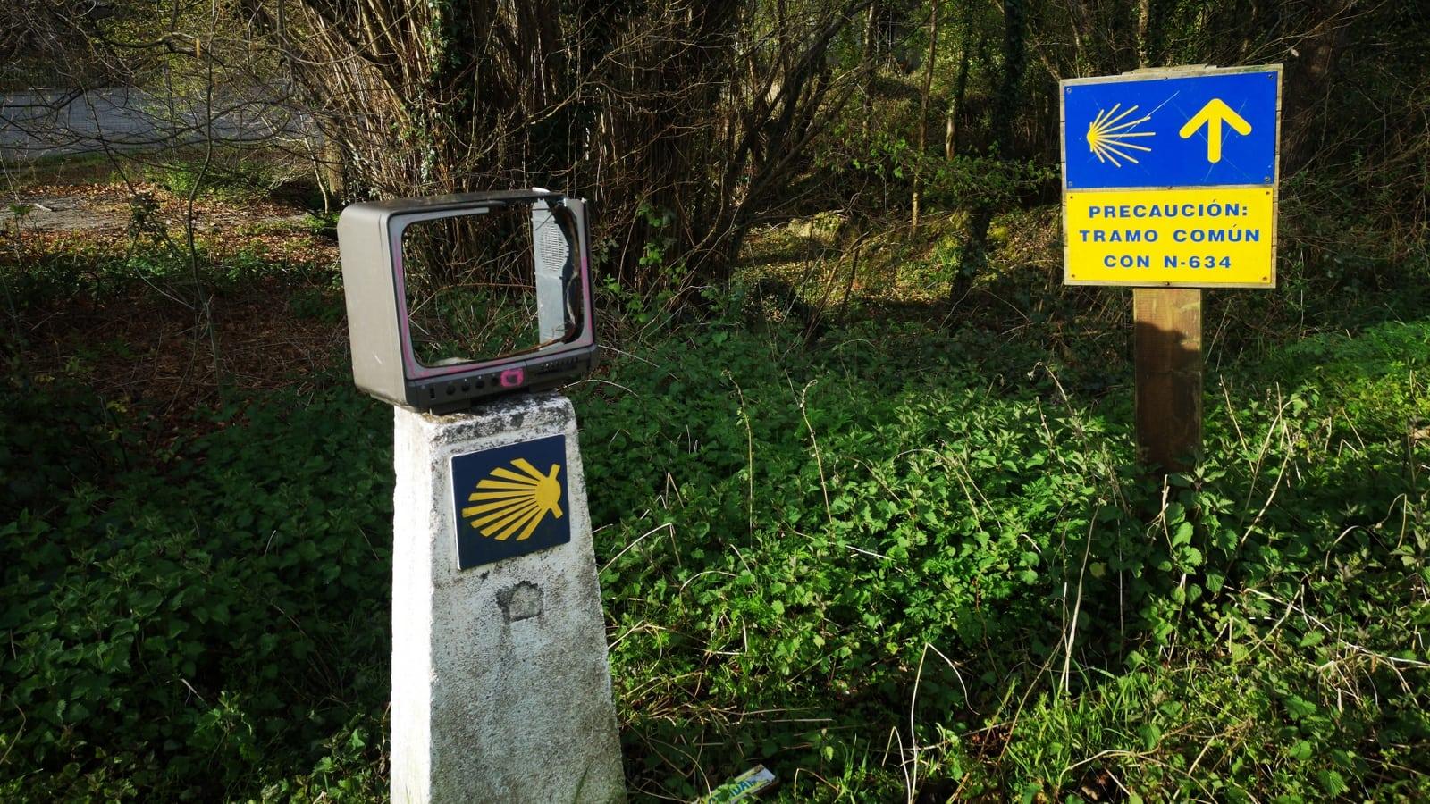 Camino Primitivo: Weg nach Tineo