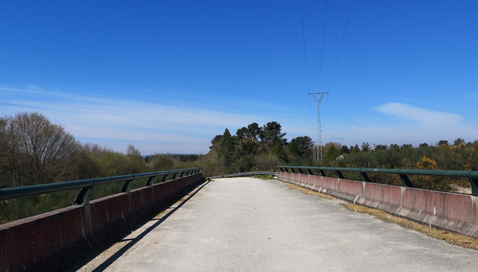 Fast am Ziel in Lugo haben wir dann auch endlich wieder Sonnenschein auf dem Camino Primitivo.