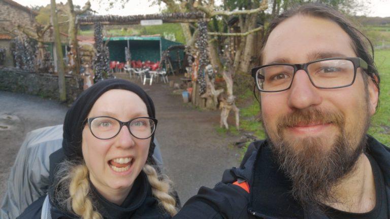 Auf dem Camino Primitivo kommen wir auch an der Bierhütte vorbei