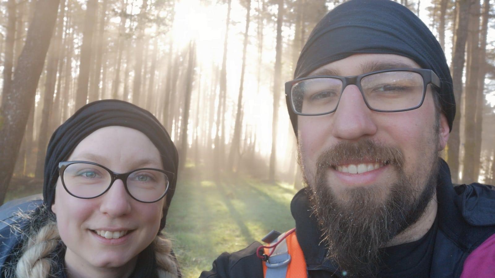 Die Laune bessert sich zusehends bei Stefan und Esther auf dem Camino Primitivo