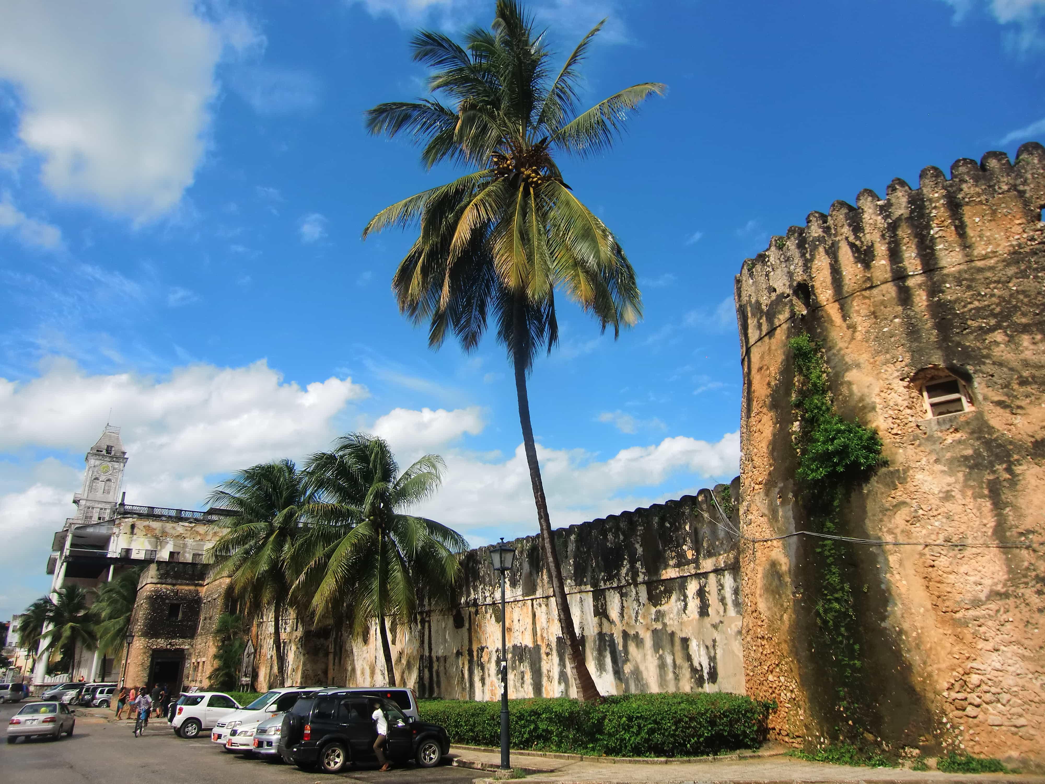 Das alte Fort auf Sansibar