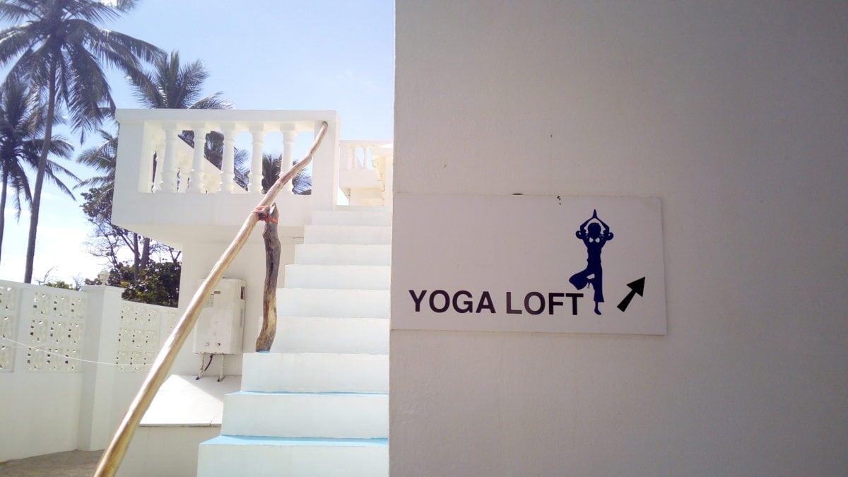 Yoga im Casa Feliz in Cabarete in der Dominikanischen Republik