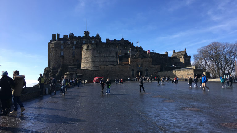 Edinburgh Castle auf dem Castle Hill
