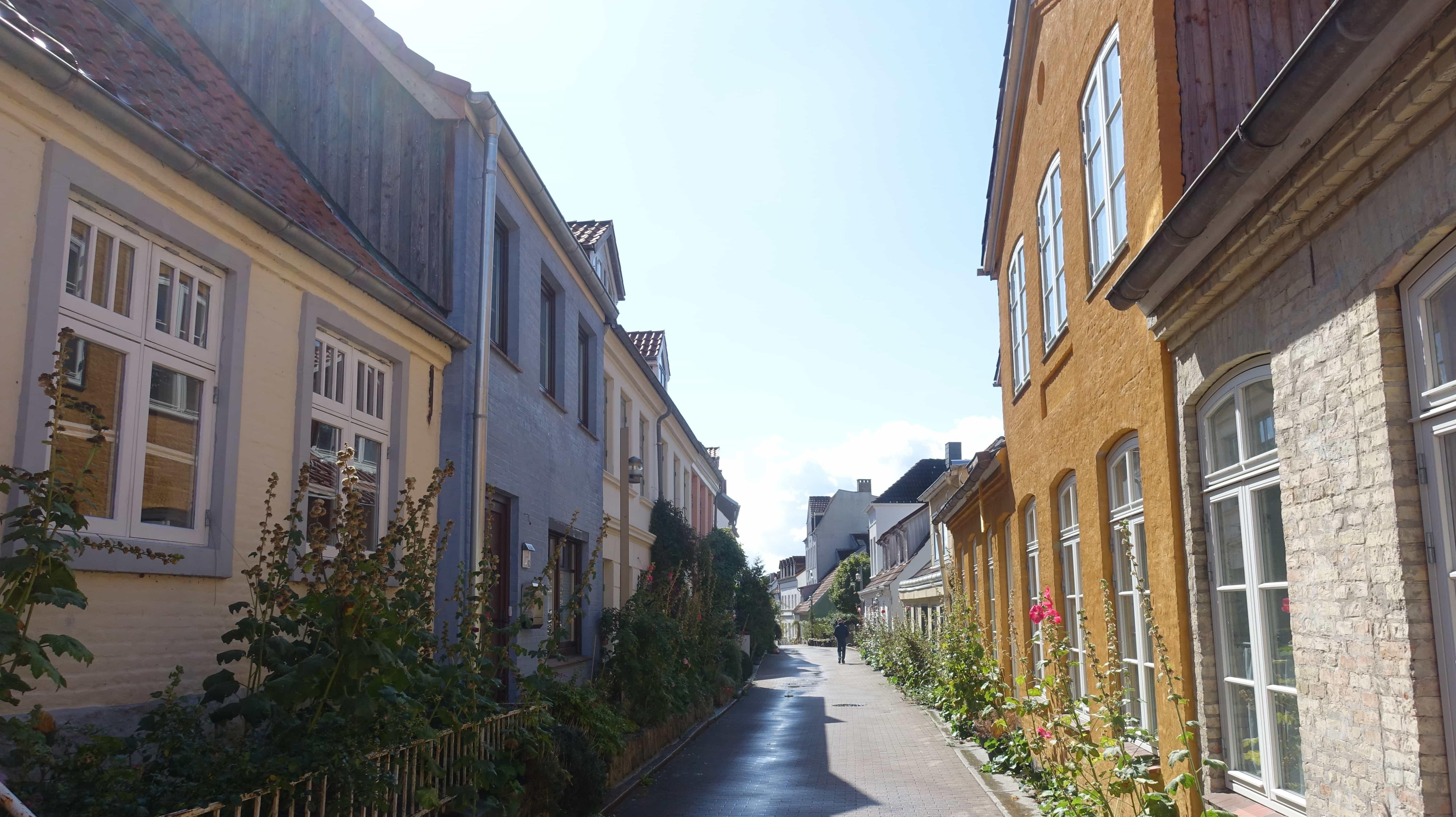 Kleine Gassen in Jürgensby in Flensburg