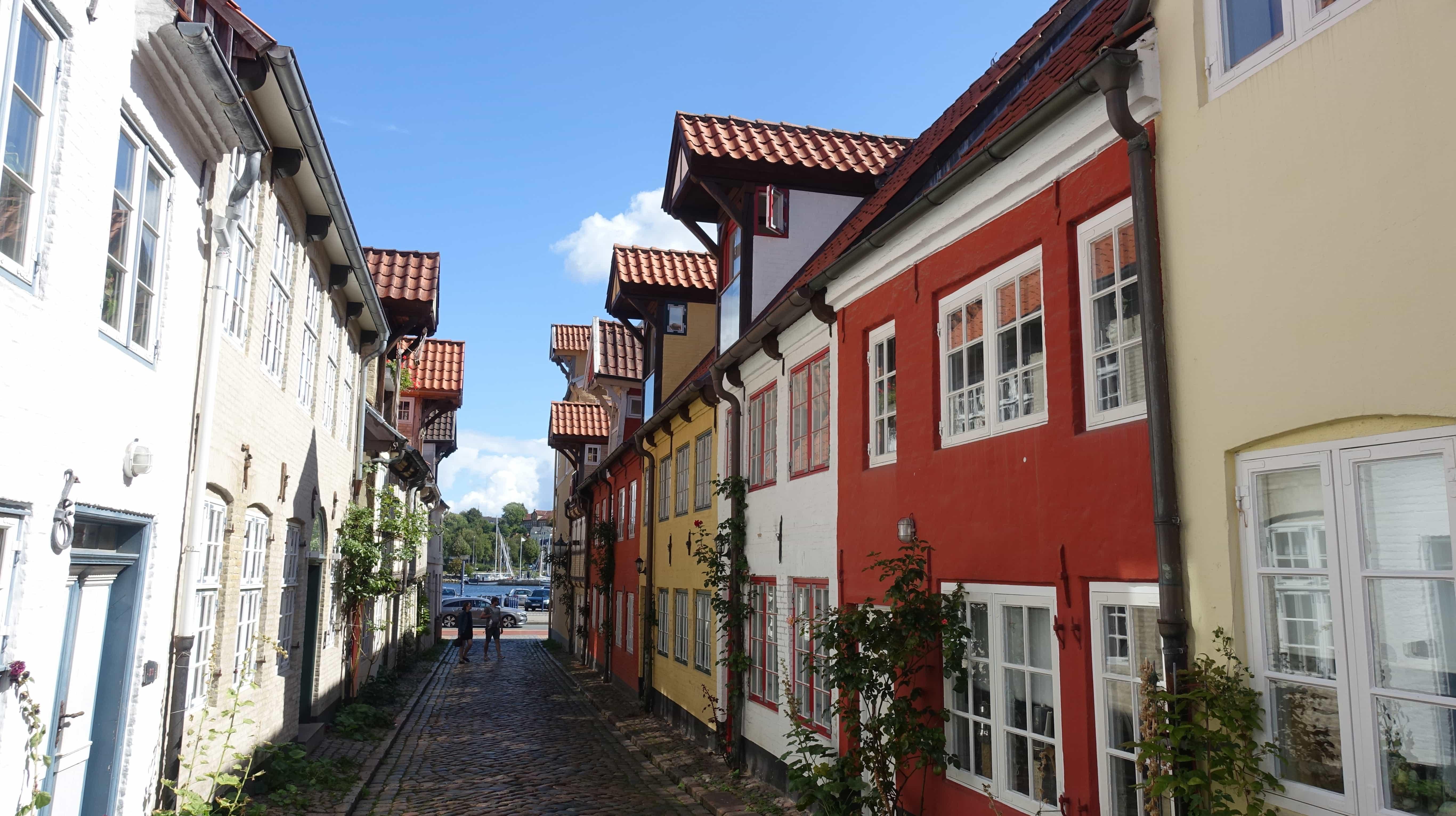 Der Kapitänsweg in Flensburg