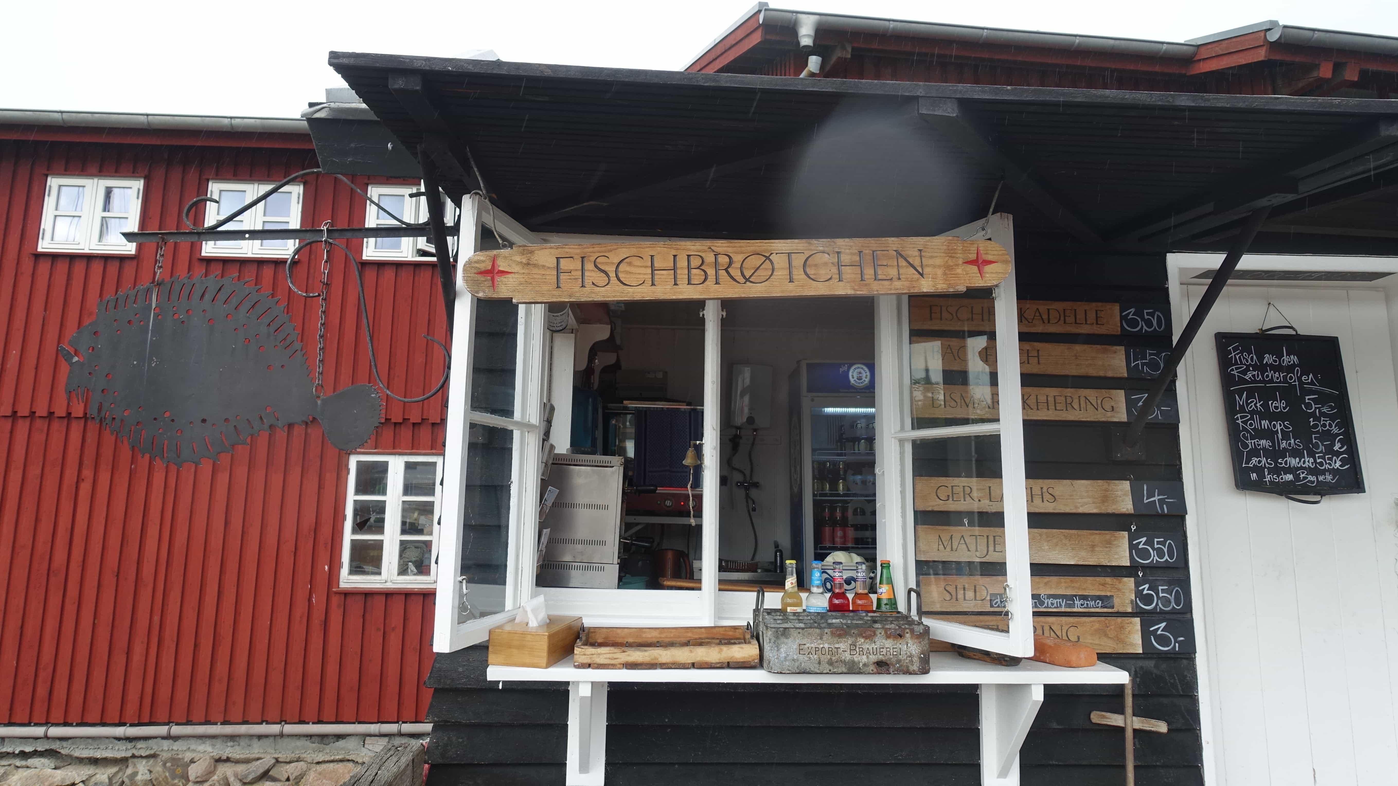 Fischbrötchen in Flensburg