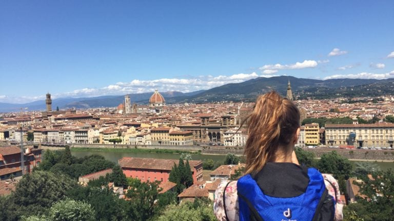 Piazzale Michelangelo in Florenz