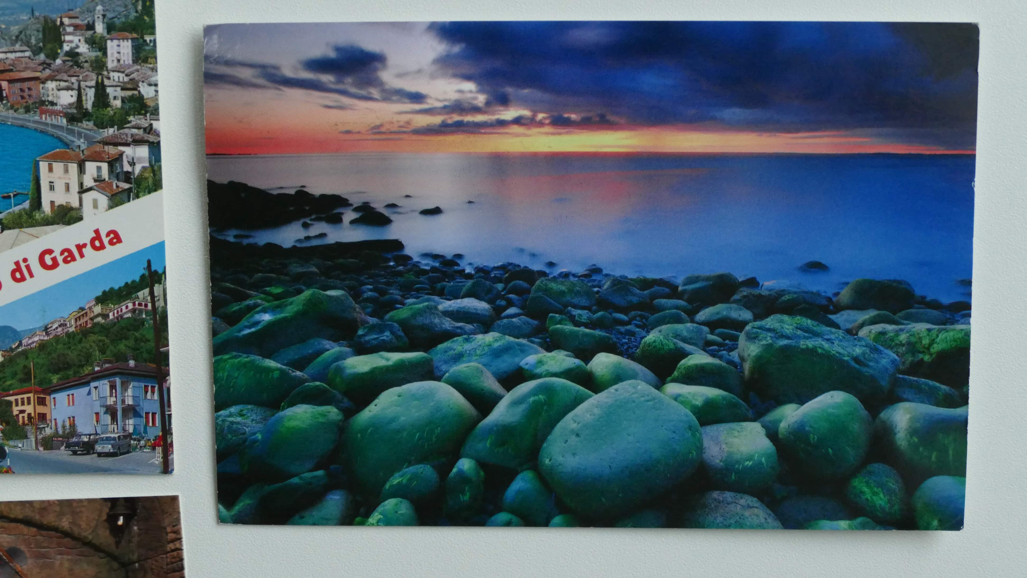 Eine Postkarte einer Reise nach Island