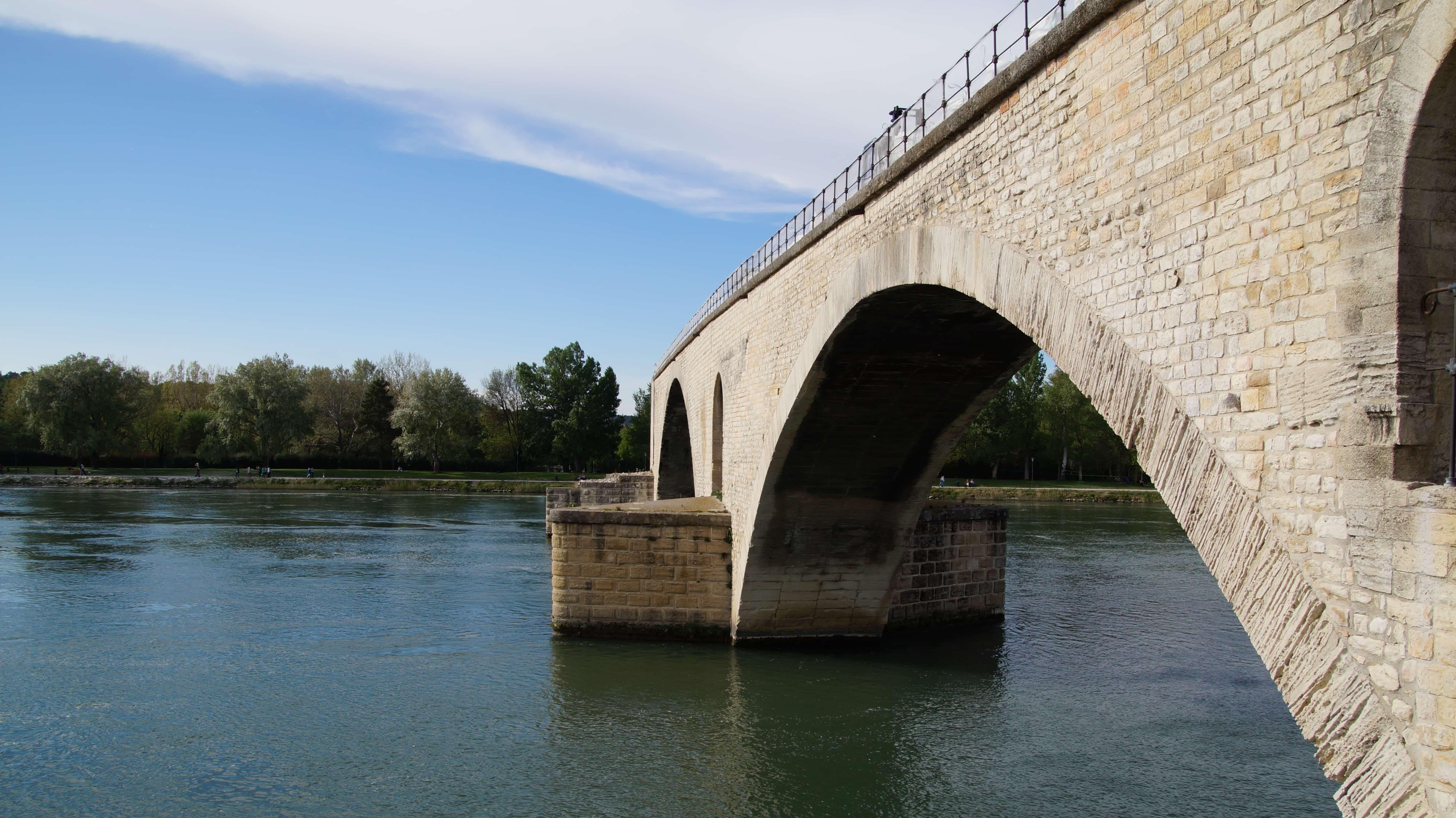 Brücke in Avignon in Frankreich