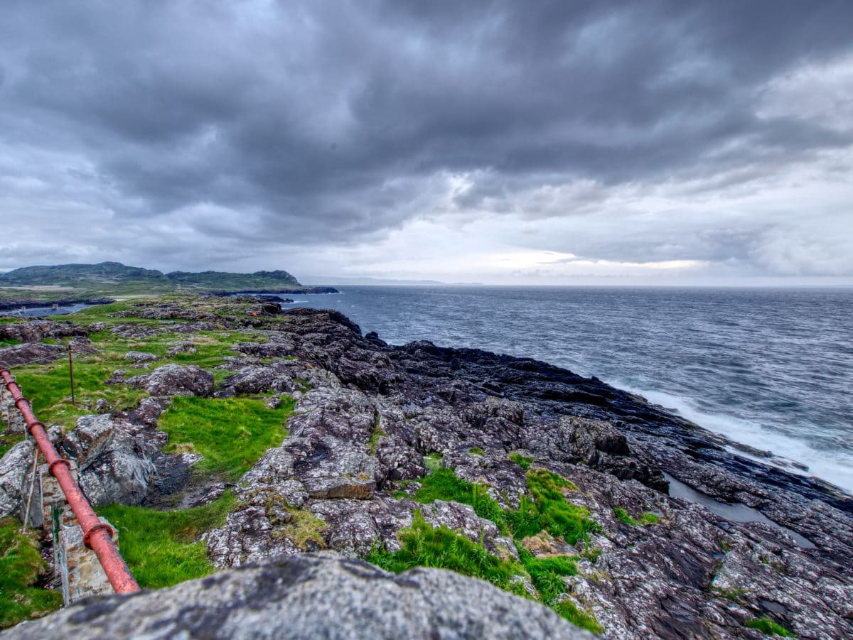 Die Küste von Glenborrodale