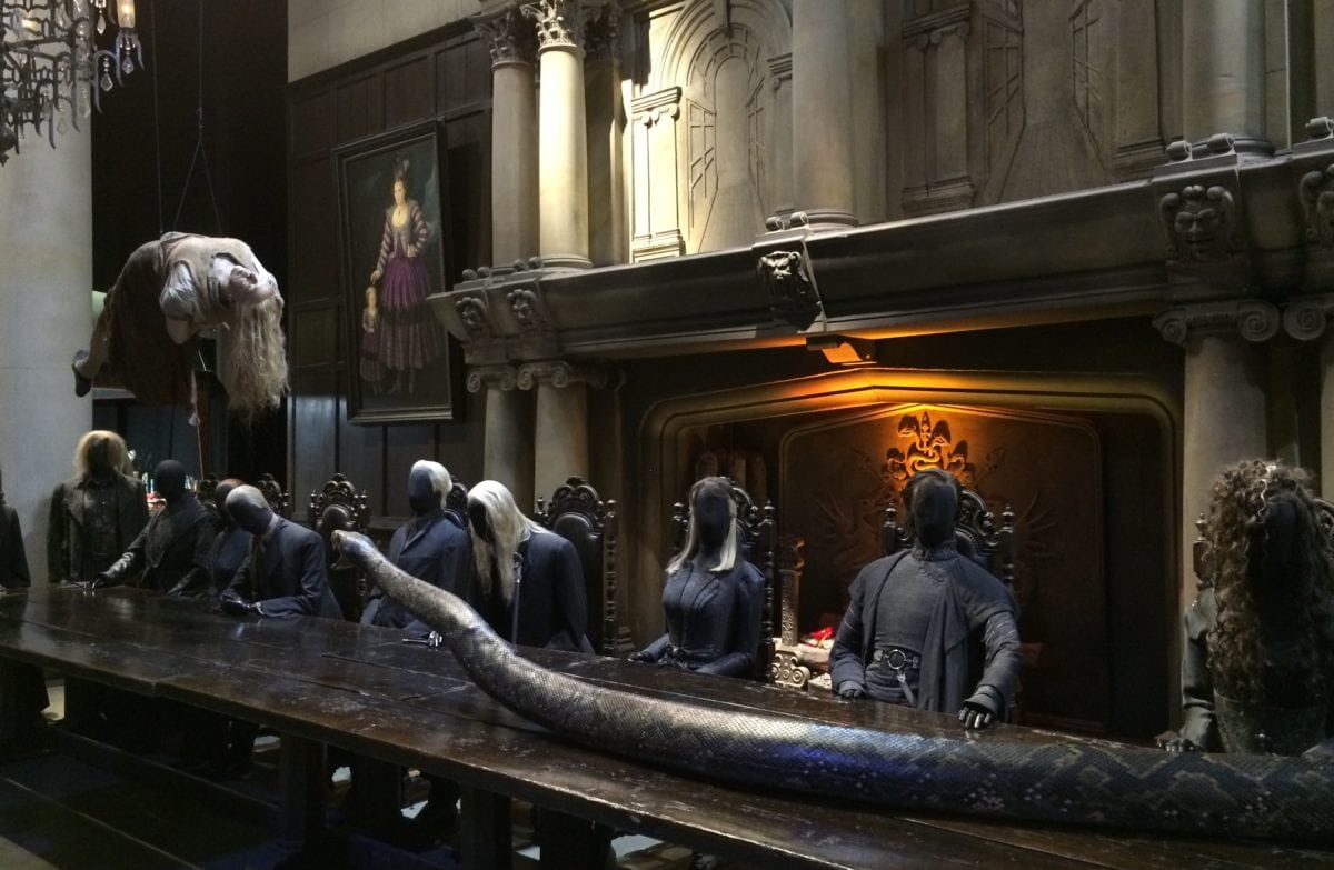 Die Todesser im Haus Malfoy