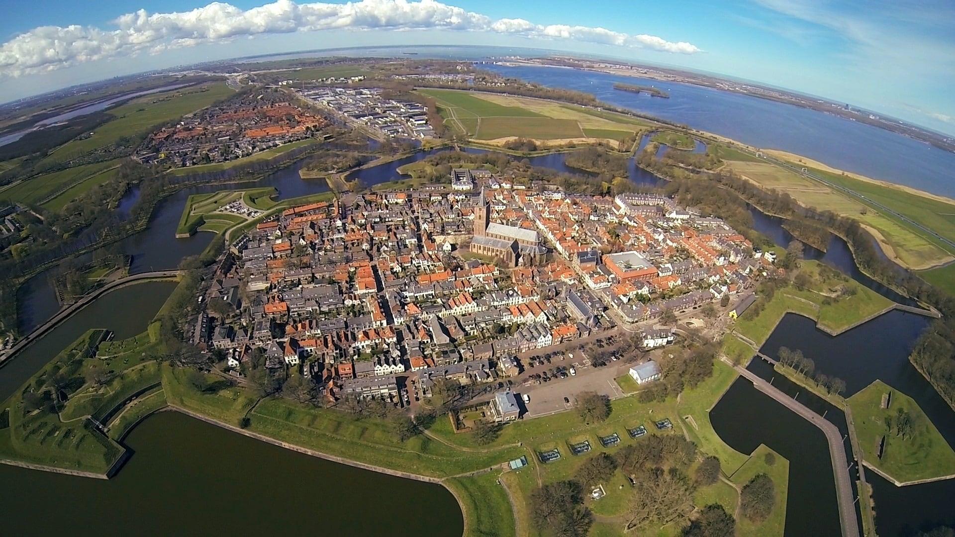 Naarden in Holland