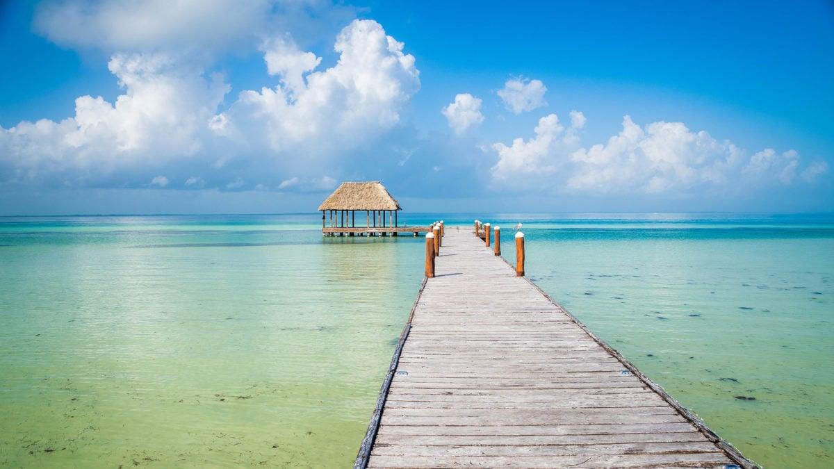 Isla Holbox auf der Halbinsel Yucatan in Mexiko