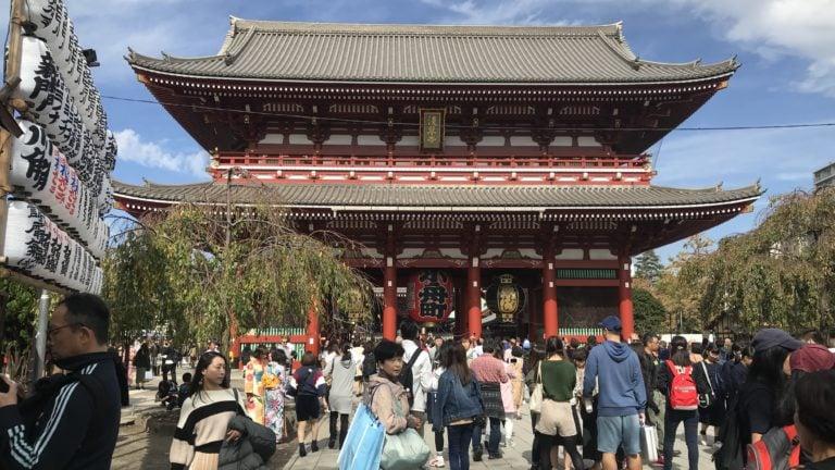 Sanjo Tempel in Asakusa