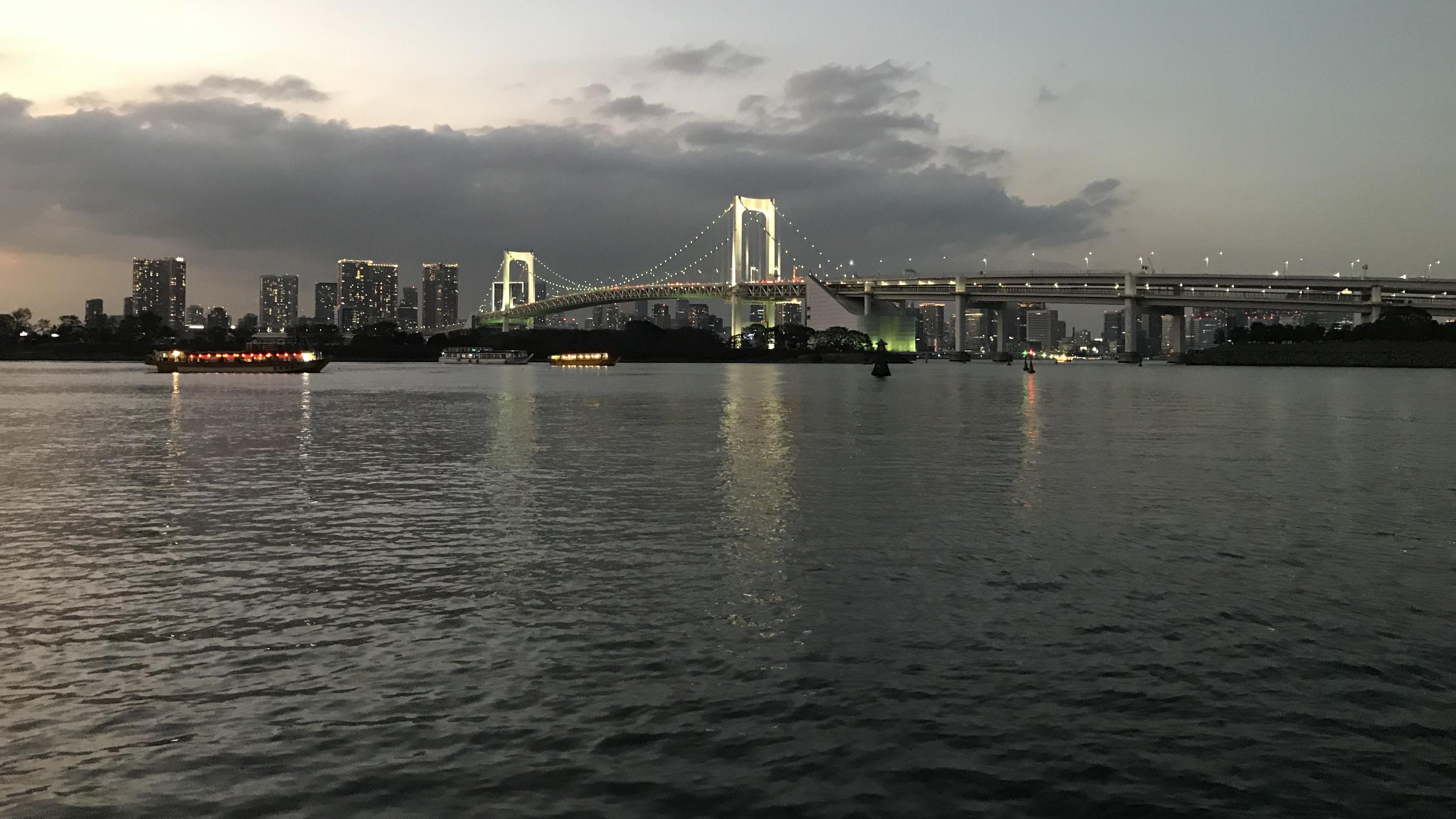 Rainbow Bridge in Tokio