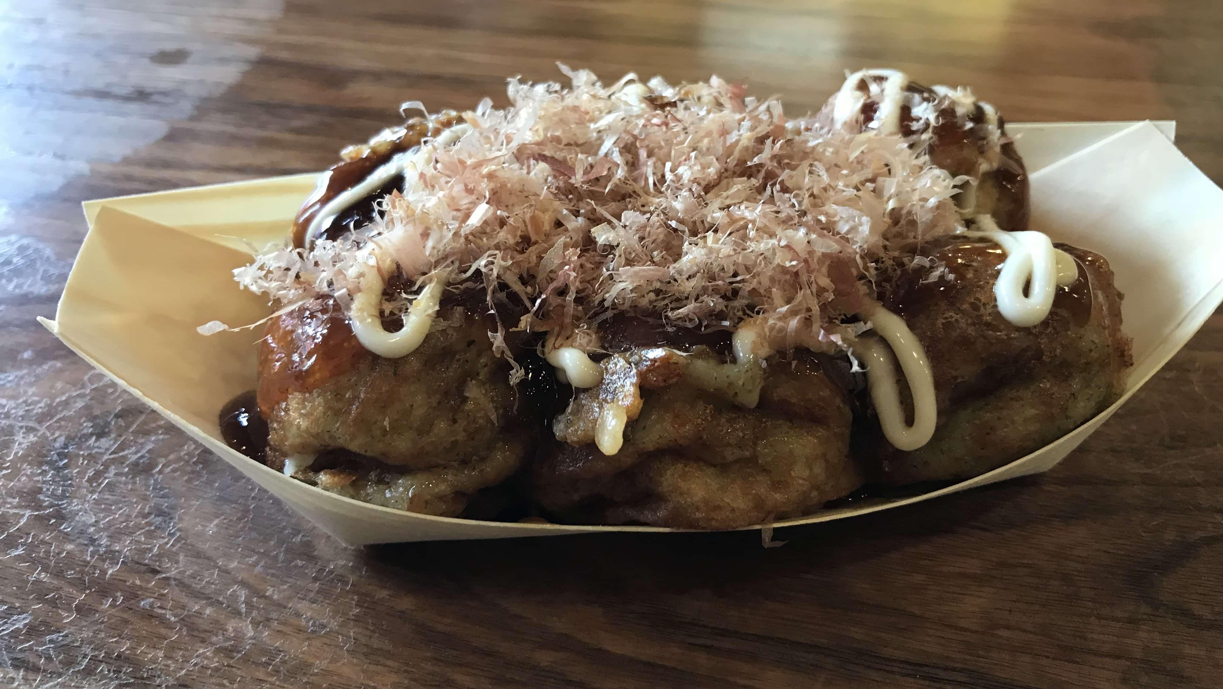 Japanisches Essen in Tokio