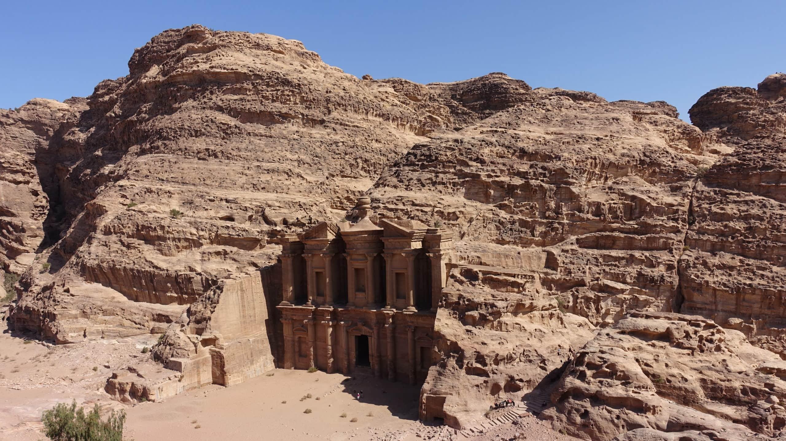 Das Kloster Ad Deir in Petra in Jordanien