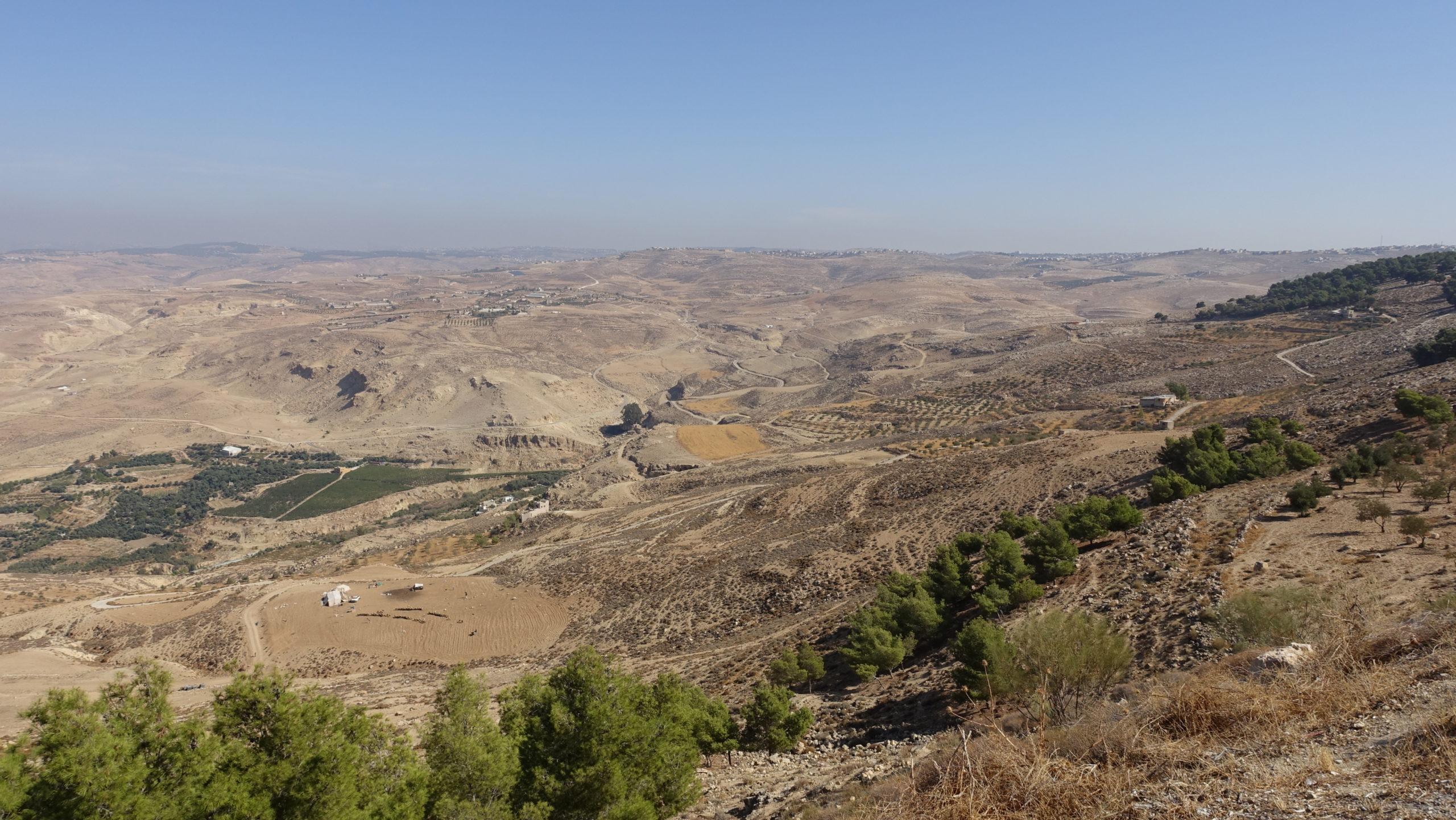 Mount Nebo in Jordanien