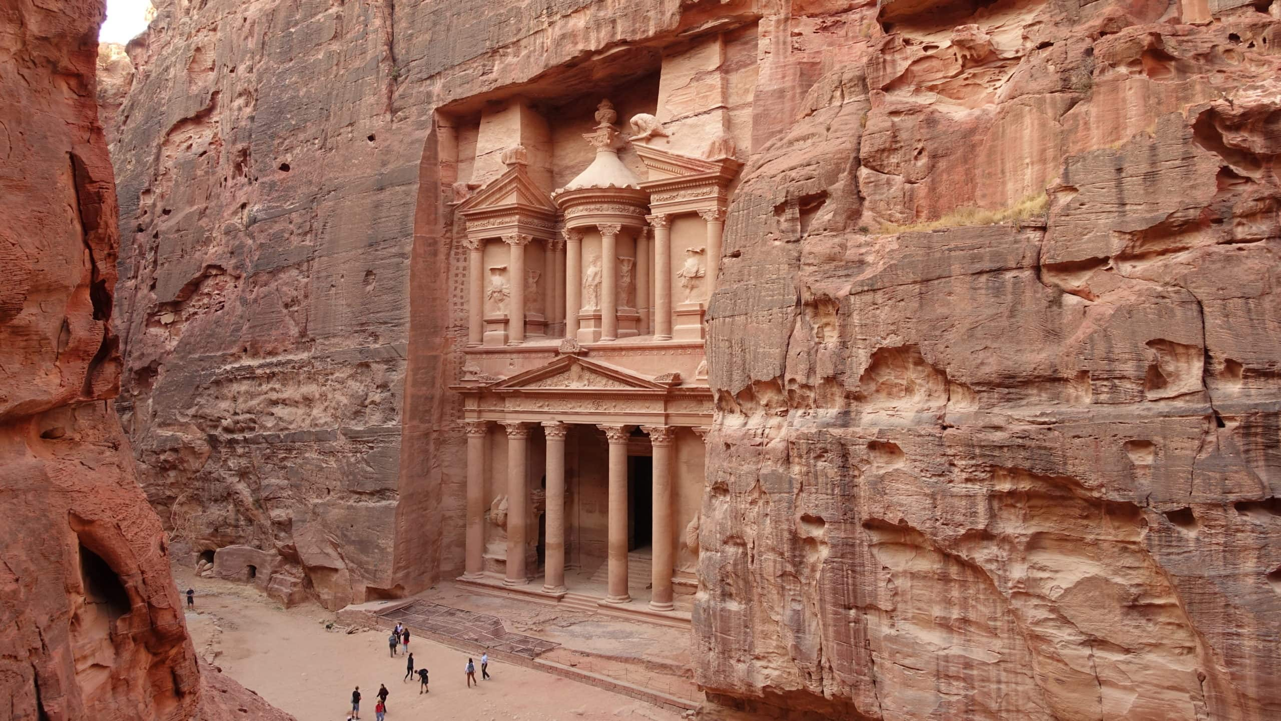 Das Schatzhaus in Petra in Jordanien