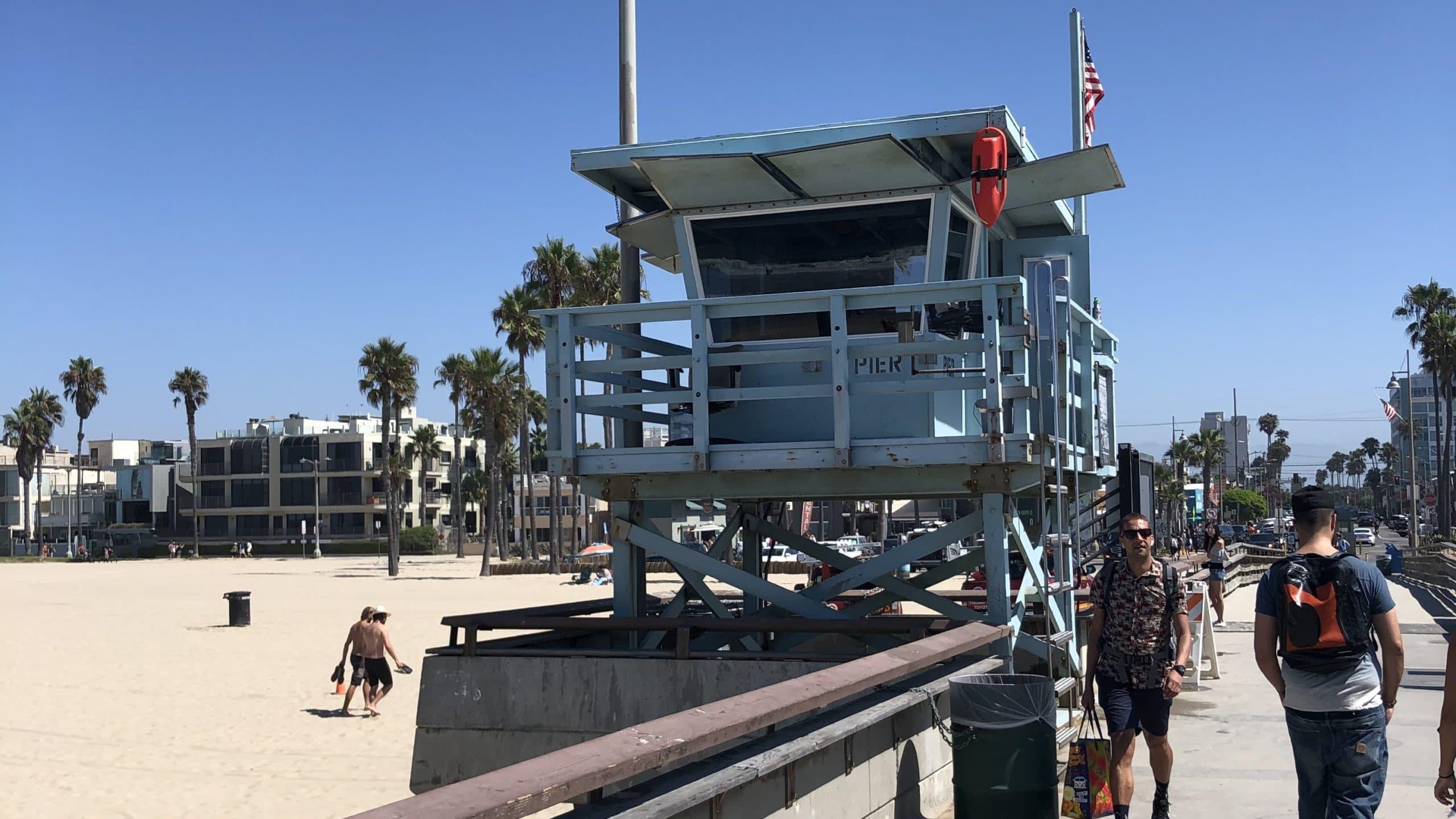 Ist das Baywatch? Der Venice Beach in Kalifornien