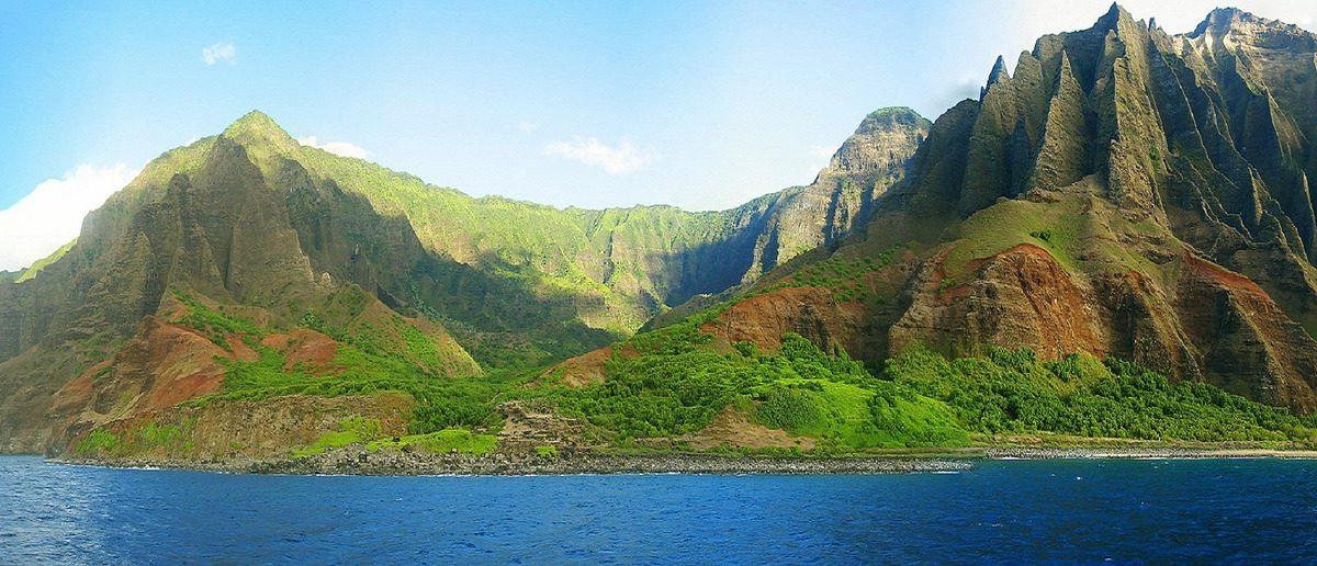 Die Insel Kauai in Hawaii