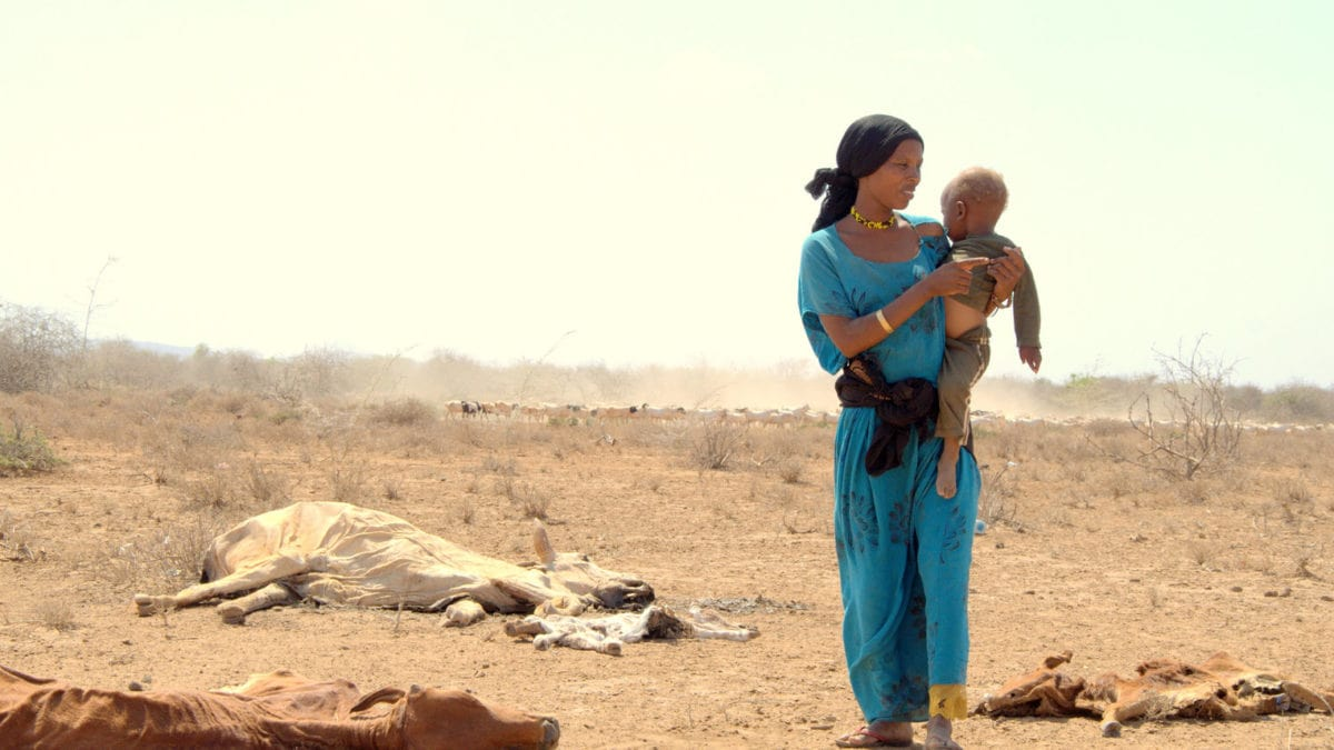 UNICEF: Mutter mit Kind in Kenia