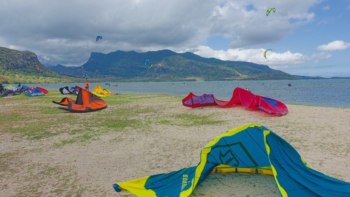 Kitesurfen in Le Morne auf Mauritius