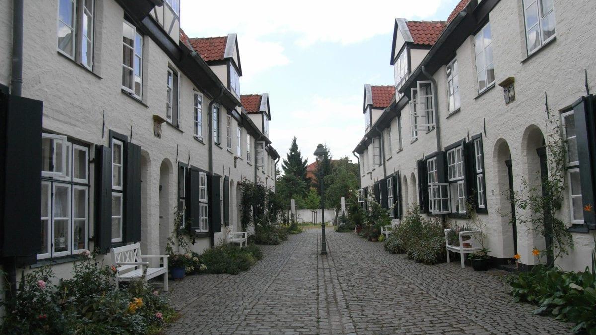 Lübecker Hinterhöfe