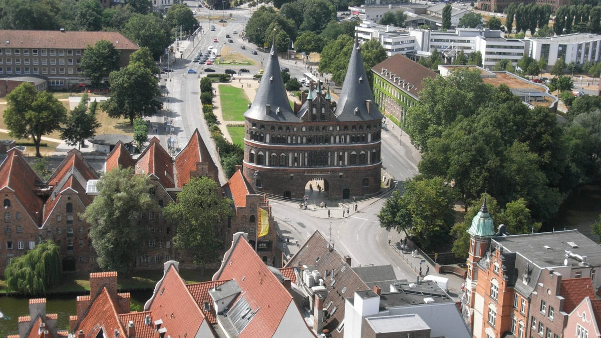 Holstentor in Lübeck