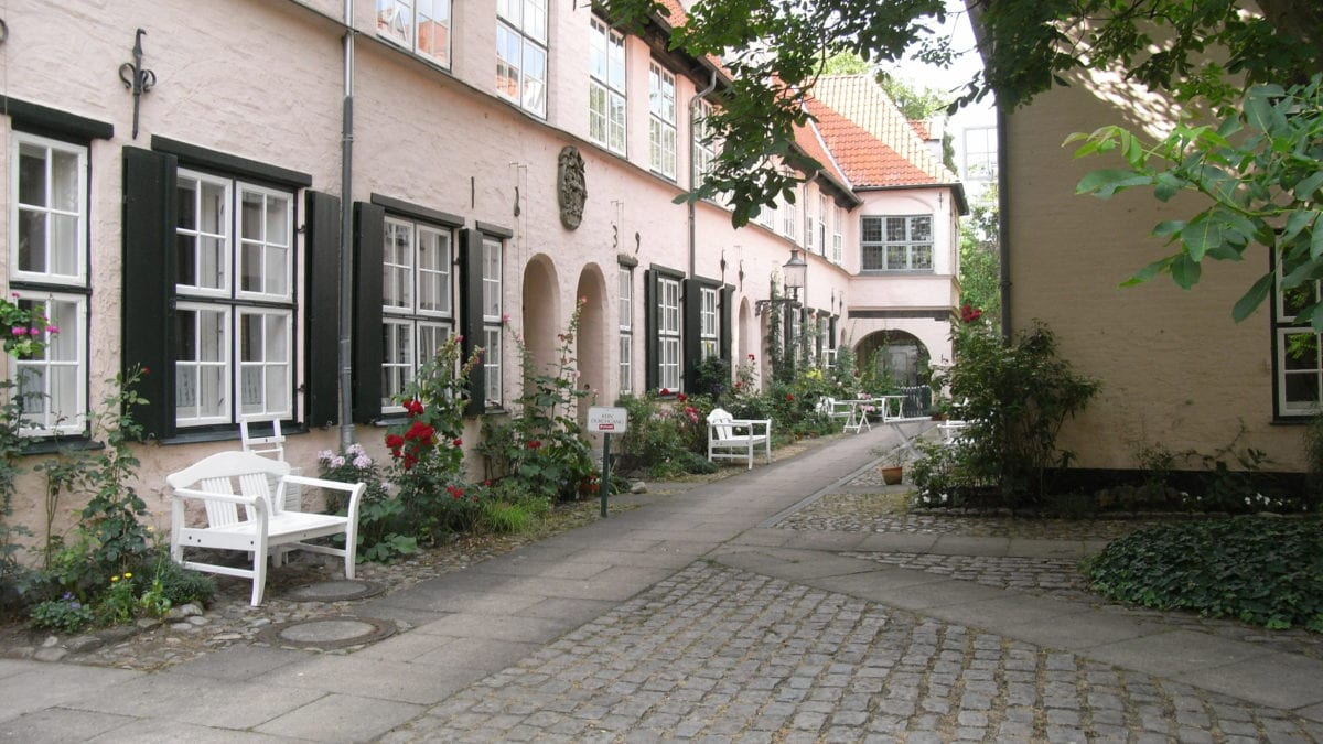 Der Füchtingshof in Lübeck