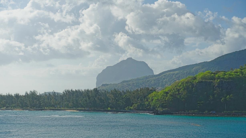 Le Morne Brabant in Mauritius