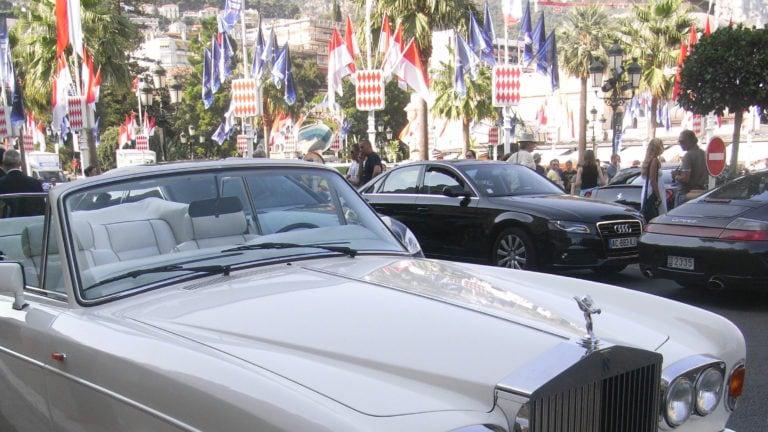 Limousine in Monaco