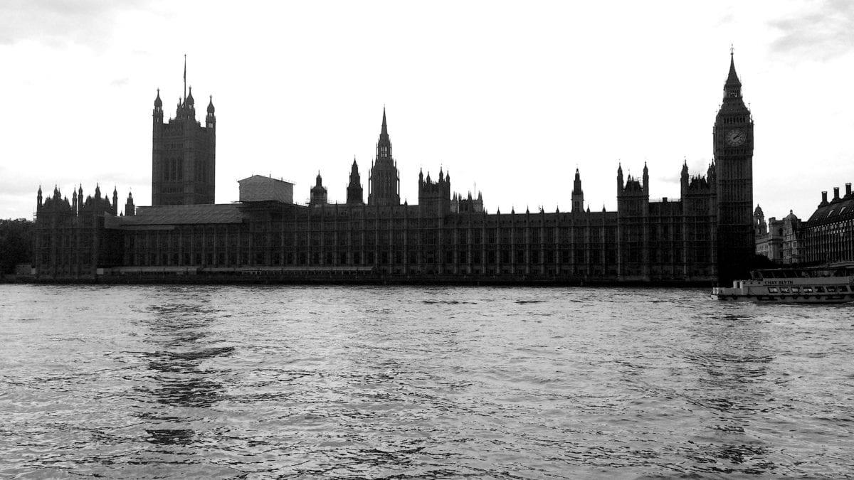 Das House of Parliament in London mit Big Ben